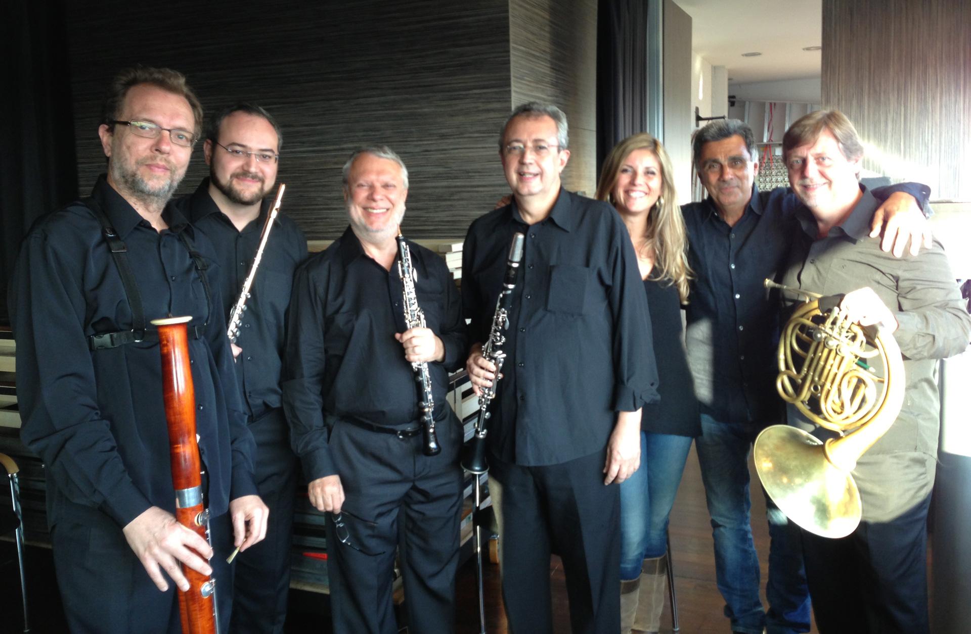 Col Quinteto Villa Lobos