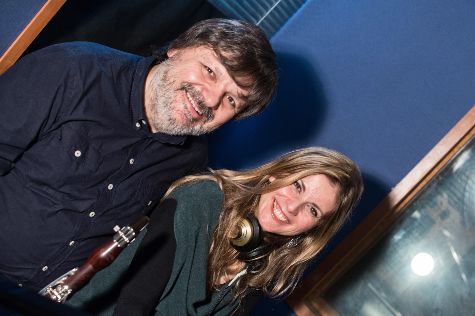 Con Corrado Giuffredi