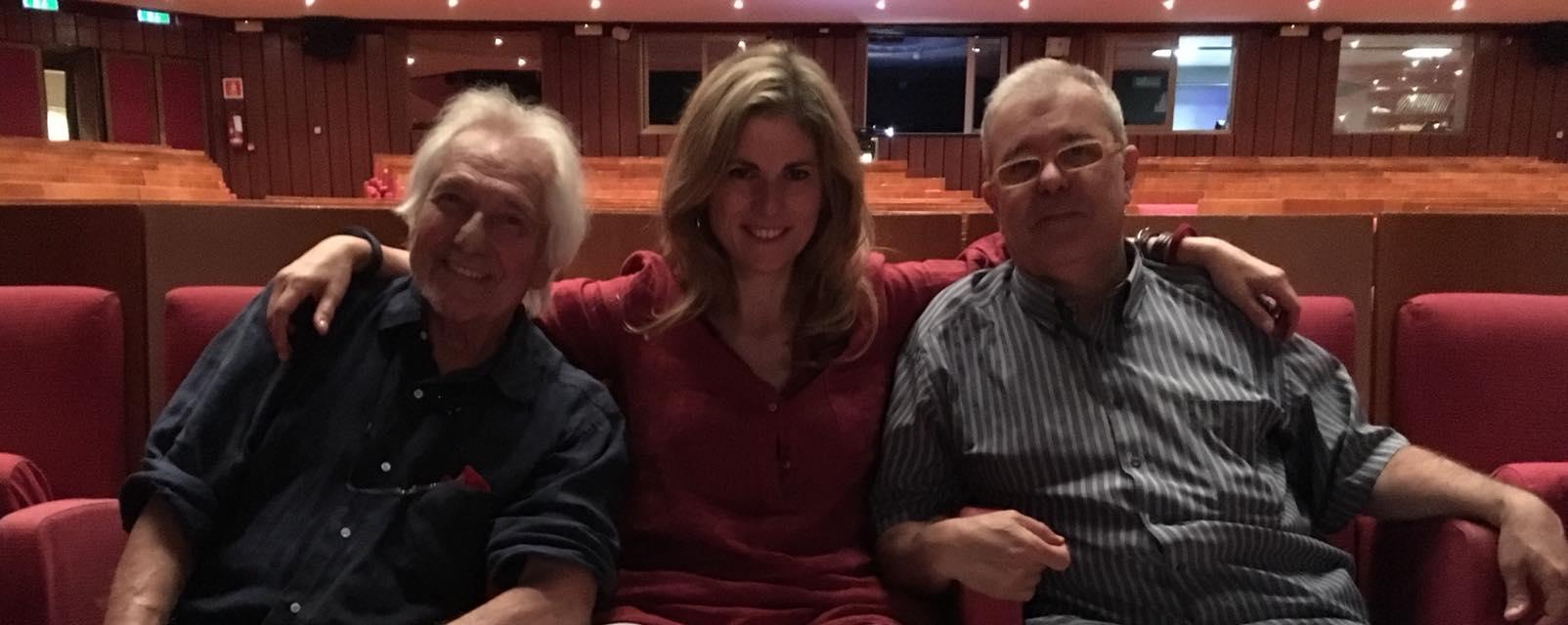 Con Enrico Intra e Maurizio Franco