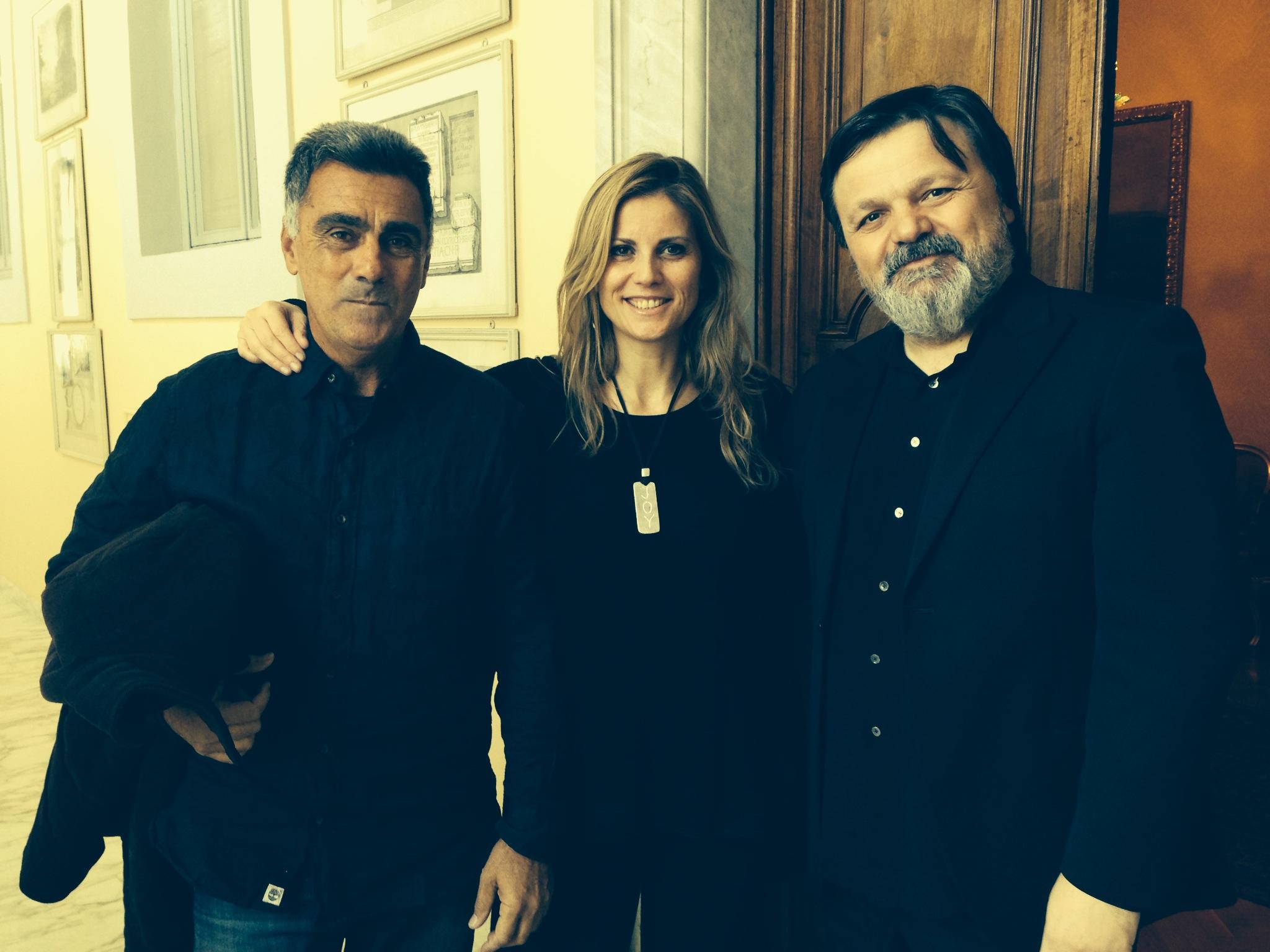 Con Guinga e Corrado Giuffredi al Quirinale