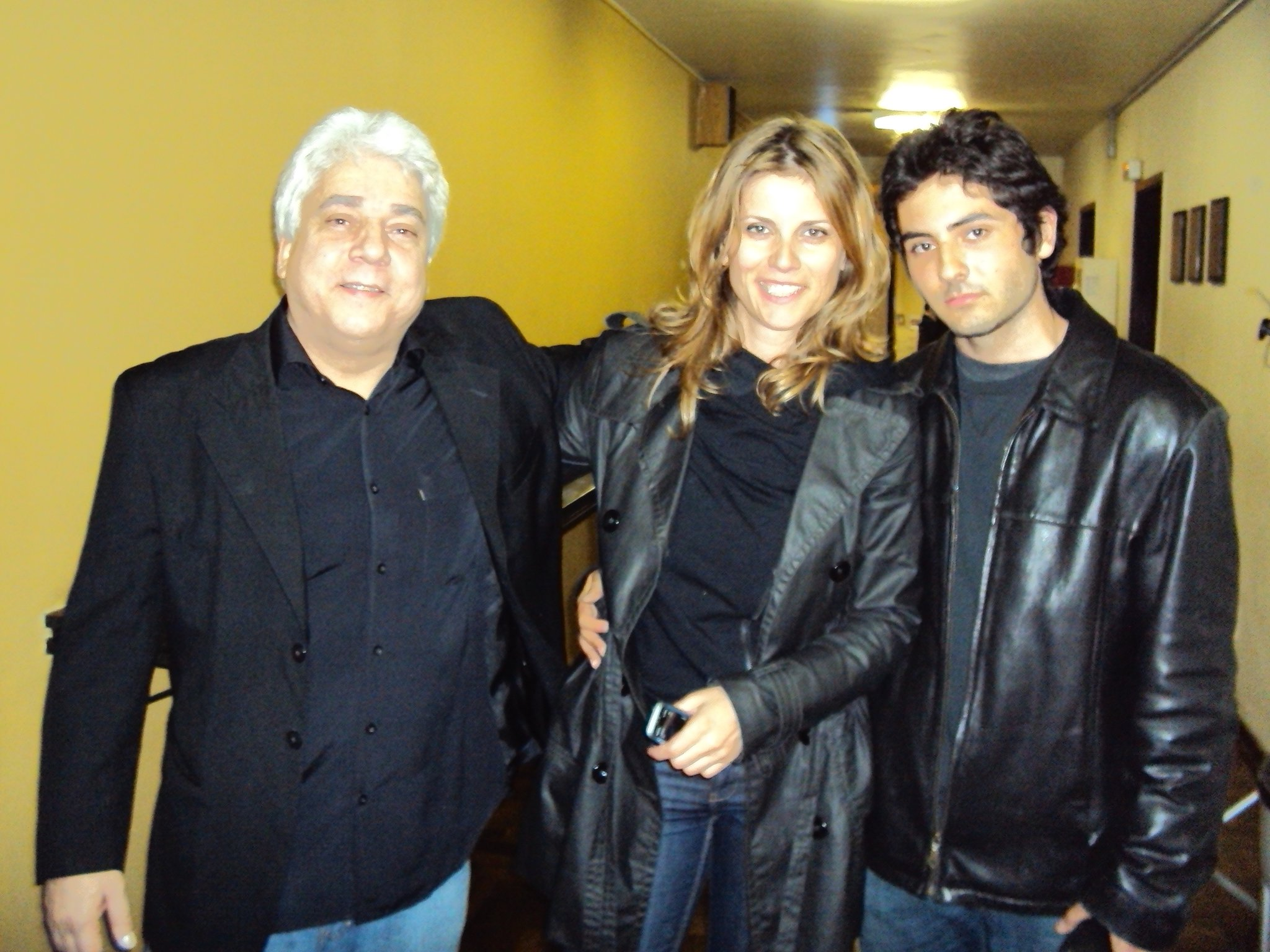 Con Lula Galvao e Ian Faquini