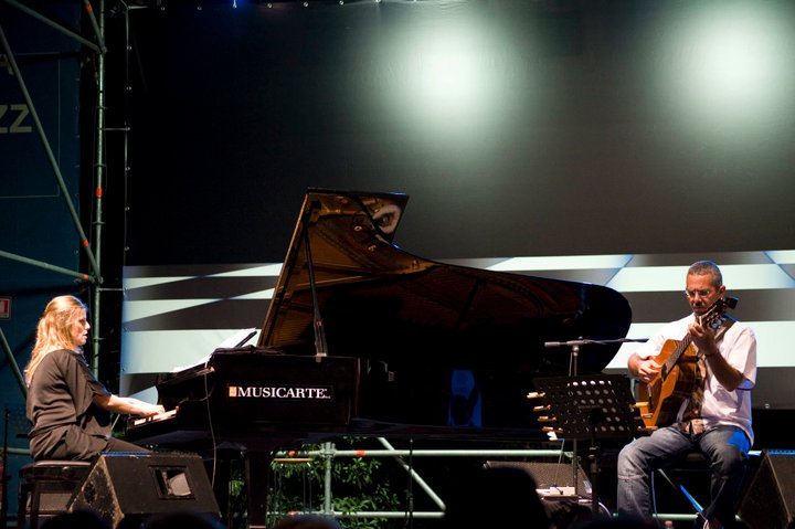 Con Roberto Taufic, Casa del Jazz