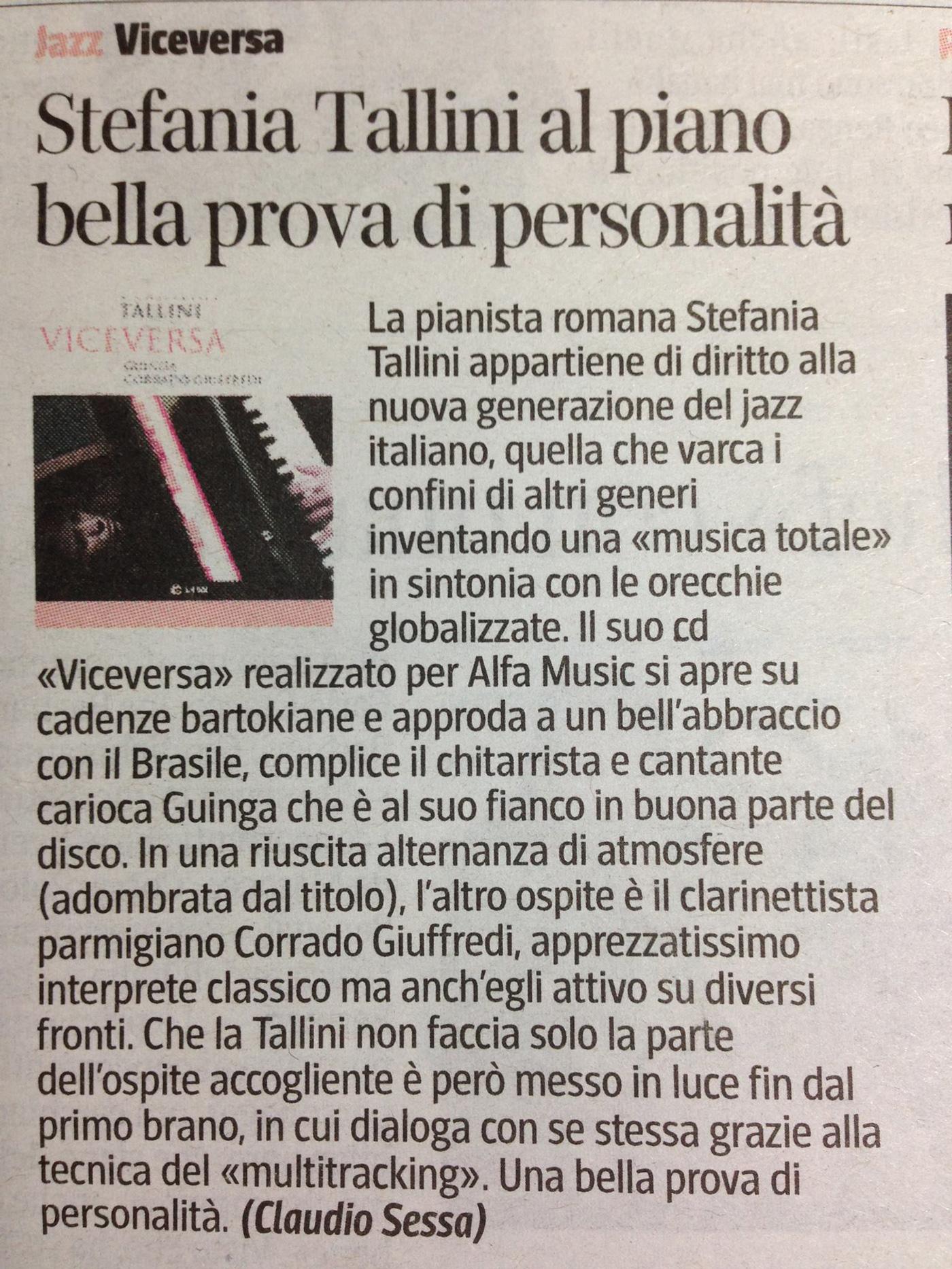 Corriere Della Sera Claudio Sessa