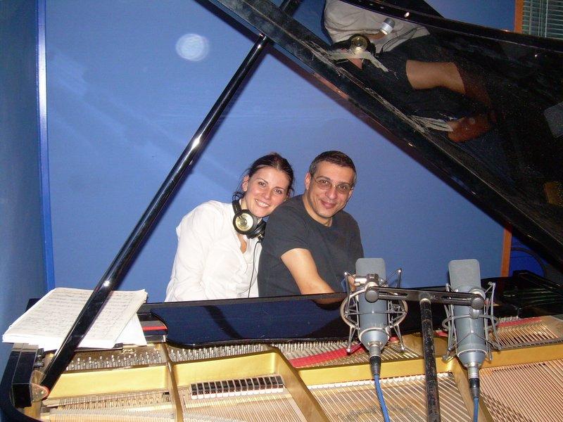 Io e Gabriele Mirabassi