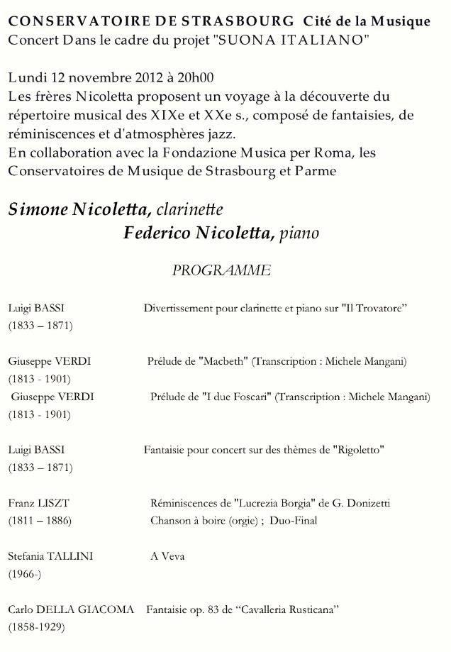 La mia musica alla Cité de la Musique