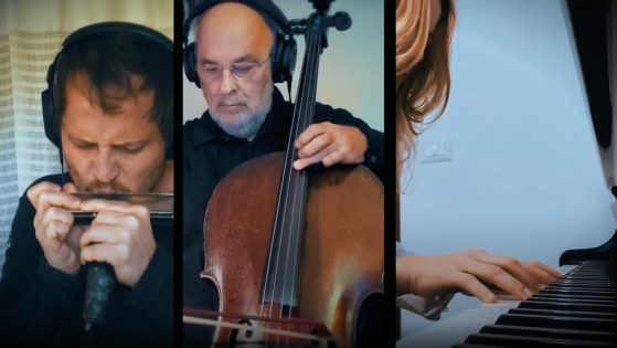 "Stefania Tallini, Gabriel Grossi, Jaques Morelenbaum: ""A Veva"""